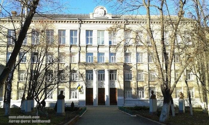 Здание Гимназии 116 Приморского района