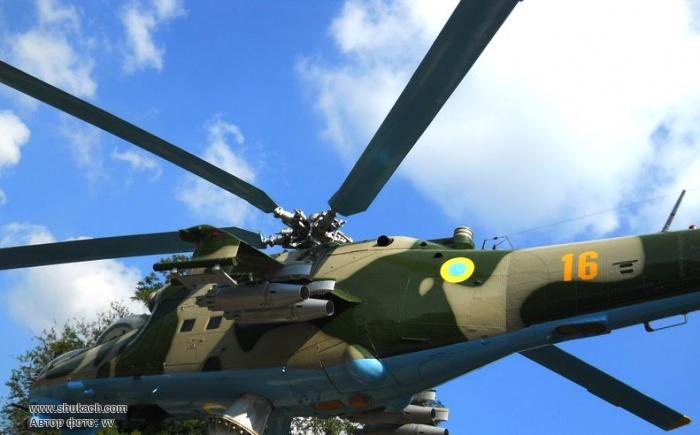 Ми-24 построен по классической