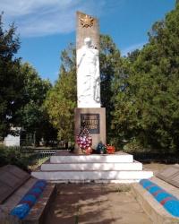 Памятник погибшим воинам 2-й Мировой войны