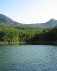 Озеро Черные воды