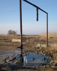 Артезианская скважина в п. Новорыбацкое