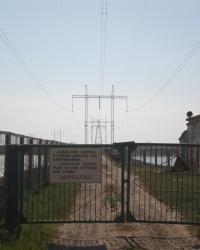Дамба через Сиваш между с. Рюмшино и с. Атамань