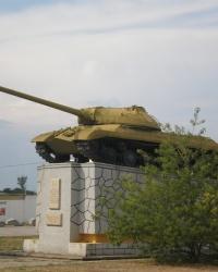 Памятный знак в честь воинов 19-го танкового корпуса