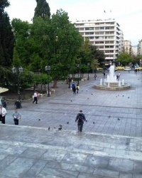 Площадь Конституции, г. Афины
