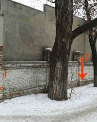 ПП на перекрёстке ул. Лутугинская и 8-й Лутугинский проезд, г. Луганск