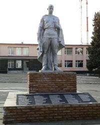 Мемориал советским воинам ВОв, пос. Металлист