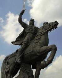 Памятник Князю Игорю и его дружине, пос. Станица Луганская