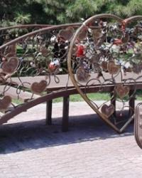 Мост влюблённых, г. Днепропетровск