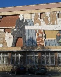 Мозаичное панно, пр-т Ленина, 47, г. Харьков