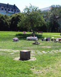 Фундамент княжого палацу на Старокиївській горі, м. Київ