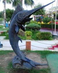 Скульптура марліна, м. Кемер