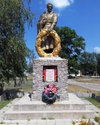 Братська могила воїнів ЧА, сел. Утківка