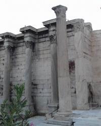 Библиотека Адриана, г. Афины