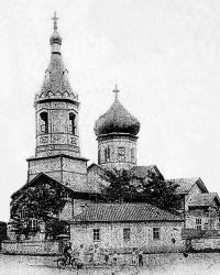 Свято-Георгиевский храм в пос. Большая Вергунка