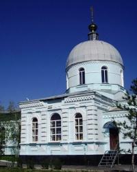 Свято-Покровский храм, пос. Новосветловка