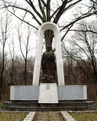 Братская могила воинов ВОв в парке Горького, г. Луганск.