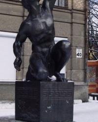 Статуя лучника, г. Луганск