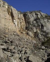 Перевал Каменный Хаос, Крым