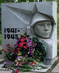 Братская могила советских воинов в г. Приволье (ул. Мухина)
