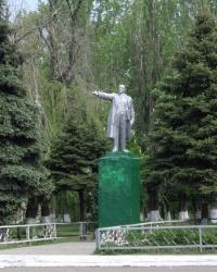 Памятник Ленину В.И., г. Приволье.