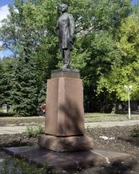 Мемориал молодогвардейцам в сквере им. Молодой гвардии, г. Луганск.