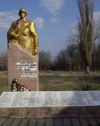 Памятник воинам-односельчанам, с. Нижнетеплое.