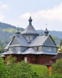 Вознесенська церква в селі Буковець