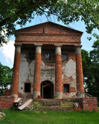 Михайлівська церква у Великому Листвені