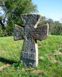 Курган з козацьким хрестом в с. Медведівка