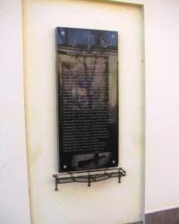 Меморіальна дошка загиблим морякам-підводникам в м. Черкаси