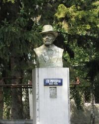 Пам'ятник Мічуріну І.В. в с. Орловець