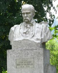 Пам'ятник Т.Г. Шевченко в смт. Славське