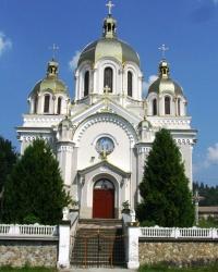 Церква св. Миколая (1900 р.) в с.Тухля