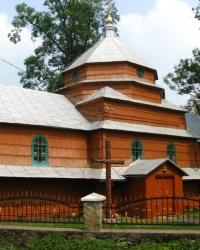 Церква св. Косьми і Дем'яна (1805 р.) в с. Корчин