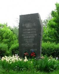 Пам'ятний камінь на честь 30-и річчя звільнення м. Сміла
