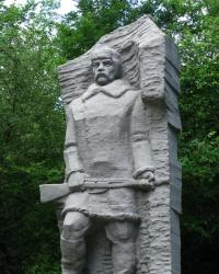 Памятник Холодноярским Партизанам