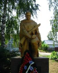 Братская могила в с. Малый Бузуков