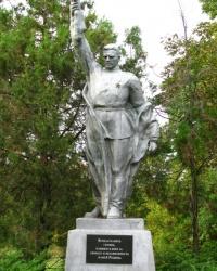 Памятник воинам, павшим в годы ВОв в г. Смела