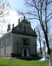 Церква Св.Трійці (1806 р.) в с. Красне