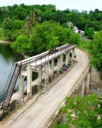 Старая ГЭС в с. Юрполь