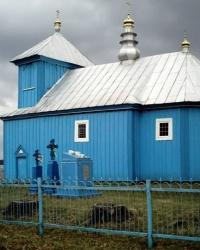 Храм св. великомучениці Варвари в с.Острів'я