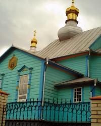 Свято-Казанський храм в с. Піща