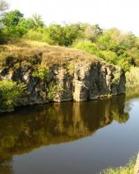 Каньон на реке Тясмин в г. Каменка