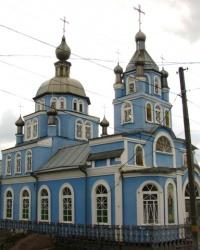 Храм спасителя Николая Чудотворца в г.Каменка