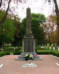 Памятник воинам-землякам в г. Каменка