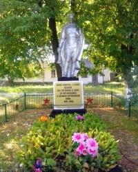 Пам'ятник радянським воїнам в с. Кислівка