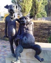 Вовк і Пес в с. Святопетрівське