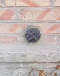Репер (2042) на будинку № 30/6 по вул. Щусєва, м. Київ