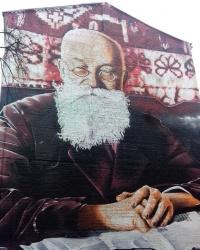Портрет Михайла Грушевського в Києві