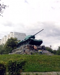 Пам'ятник радянським танкістам, м. Фастів